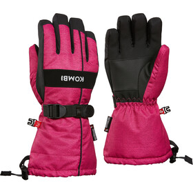 KOMBI Storm Gloves Barn bright pink denim